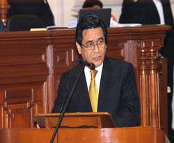 Ministro en el Congreso