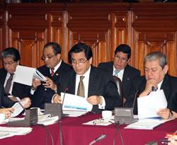 Ministro Chang en Congreso Presupuesto