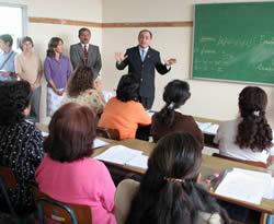 inició con más de 40 mil maestros y se espera atender, hasta fin de