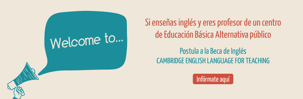 Beca de Inglés: Cambridge English Language for Teaching