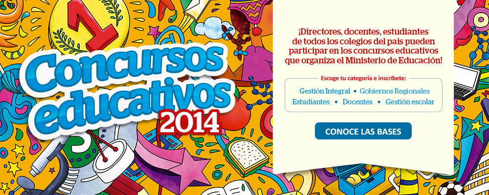 Concursos educativos 2014