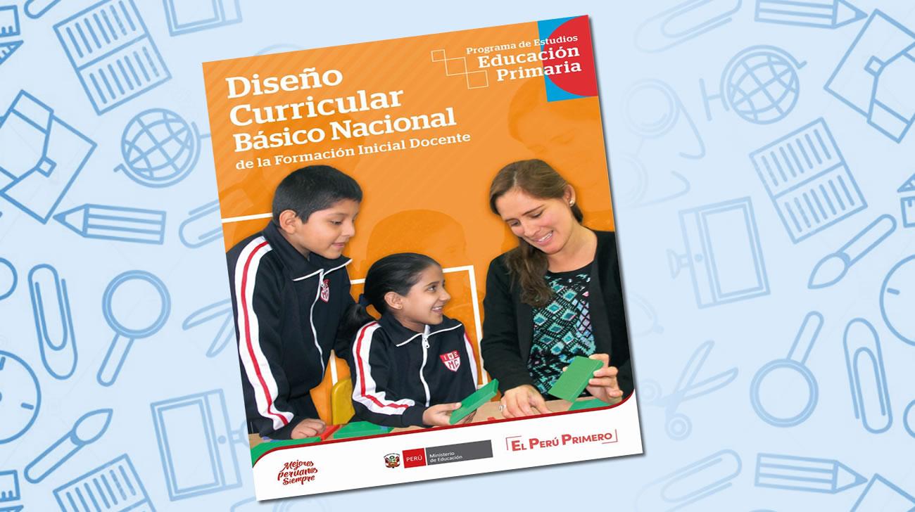 Diseño Curricular Básico Nacional Programa De Estudios De Educación Primaria